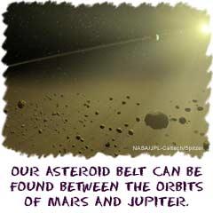 Cosmos4Kids.com: Solar System Details: Asteroid Belt